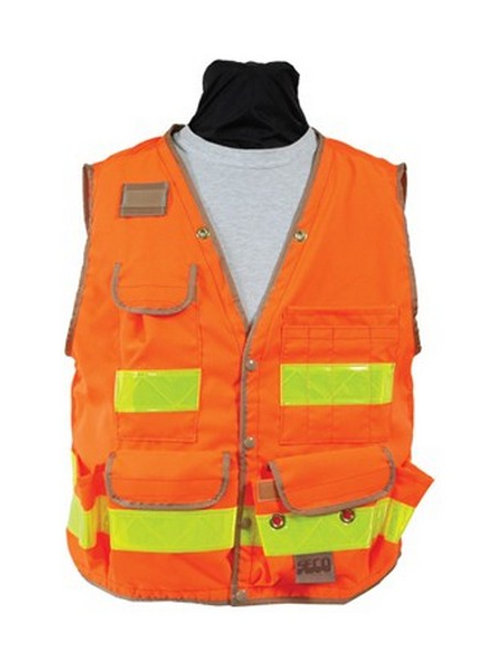 SECO 8069 Series Class 2 Safety Vests - Orange