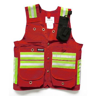 DEAKIN Cruiser Vests With Reflective Striping