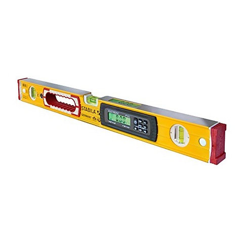 "Stabila TECH IP65 Electronic Carpenter Level 24"" With Case"