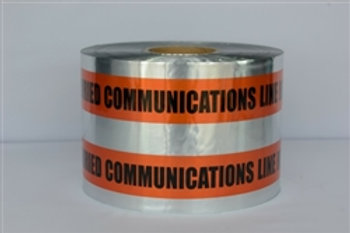 Presco Detectable Tape - Buried Communication Line