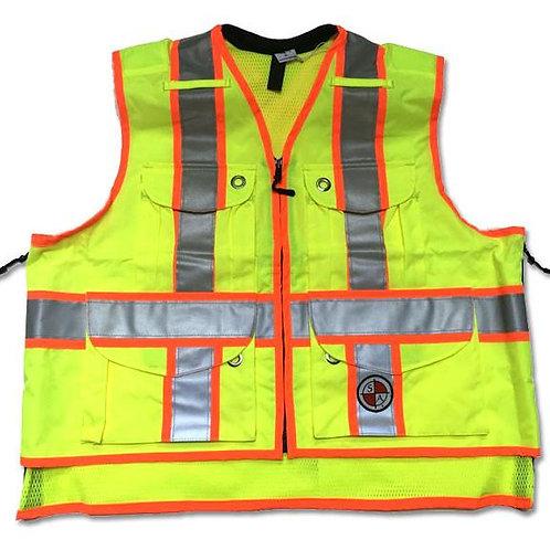 Safety Apparel SVX Class 2 Safety Vest - Yellow