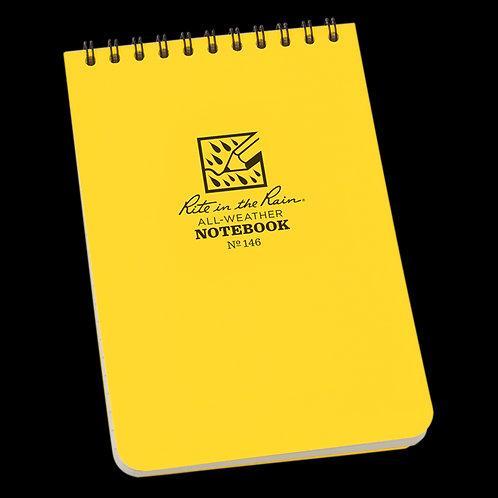 "Rite In The Rain Top Spiral Universal Field Notebook 4"" x 6"""