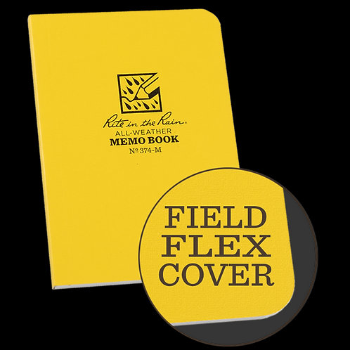 Rite In The Rain Field Flex Bound Mini Memo Book