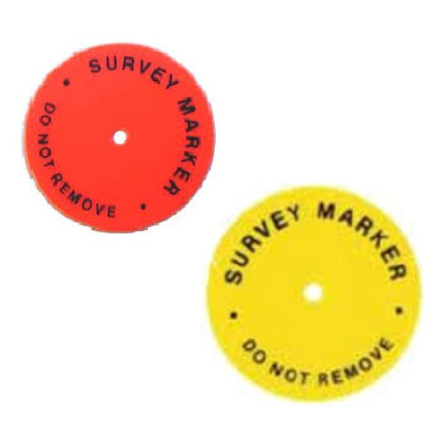 Hub Disc Survey Markers
