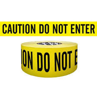 Presco CAUTION DO NOT ENTER Tape
