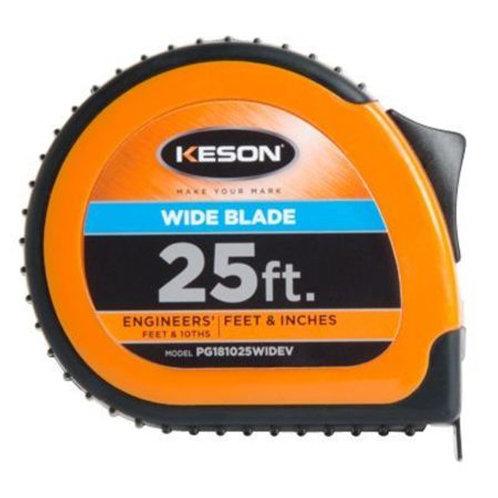 Keson 25' Pocket Tape Wide Blade