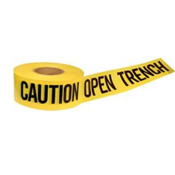 Presco CAUTION OPEN TRENCH Tape