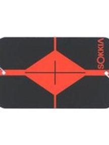 Sokkia Orange/Black Plastic Target Card