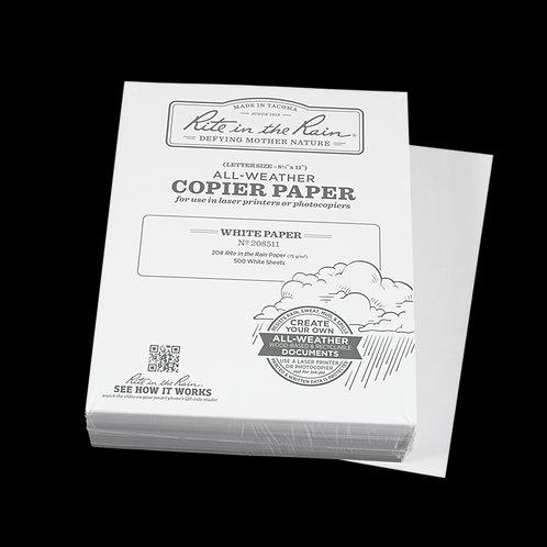 """Rite In The Rain 8.5"""" x 11"""" Copier Paper White"""