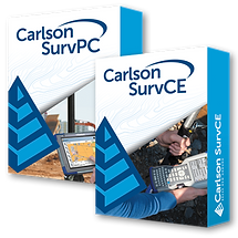 Carlson SurvPC/SurvCE Version 6.0 Software Boxes