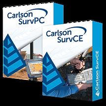 Carlson SurvPC/SurvCE Version 6.0 Software Boxes