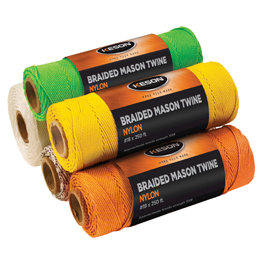 Keson 1000' Braided Nylon Twine - Select Color
