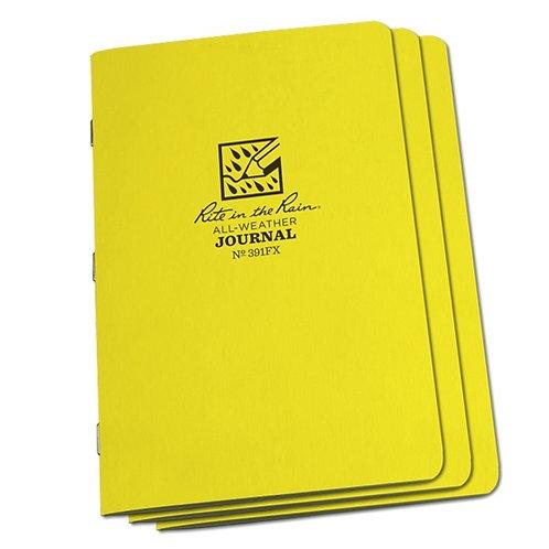 Rite In The Rain Field Flex Journal Book 3-pk, #391FX