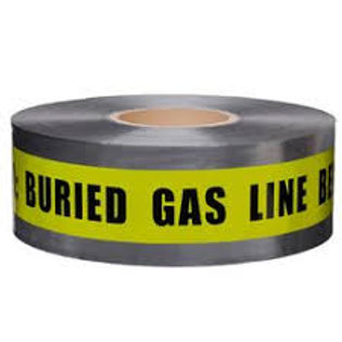 Presco Detectable Tape - Buried Gas Line - Select Size