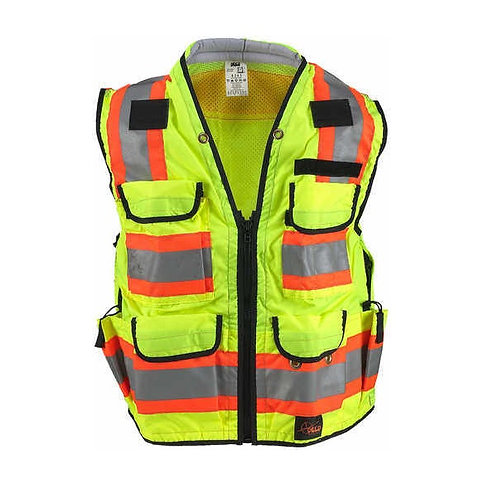 SECO 8265 Series Safety Vest - Yellow