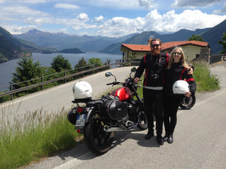 Cause riding with Lake Como Motorbike is above all laughing and laughing