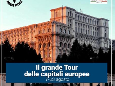 Ad agosto affidati a Italian Bikers. Scopri con noi il fantastico itinerario tra le capitali europee