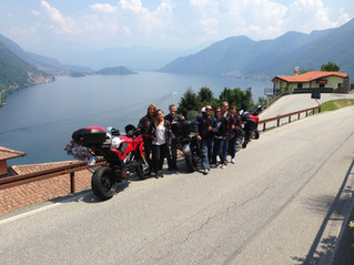 The Biggest Group Ever Around Lake Como