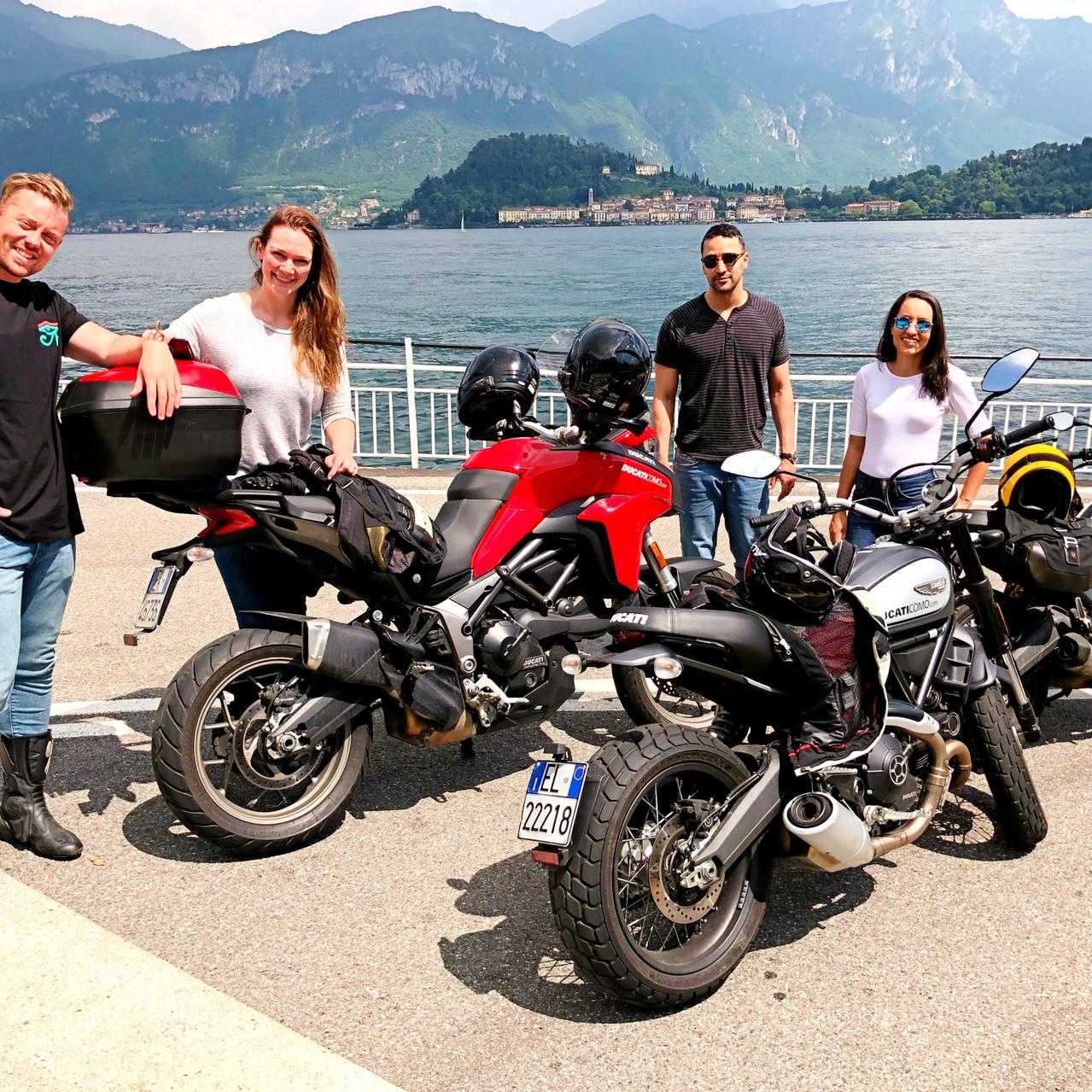 Lake Como Motorbike