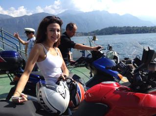 When Pamela had a great idea: Lake Como Motorbike