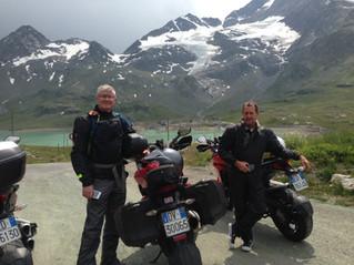 Up To The Maloja Pass And Down Through The Bernina
