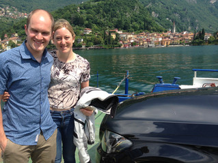 Honeymoon at Lake Como is special. On the bike is even better.