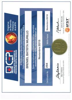 certificado CEPI