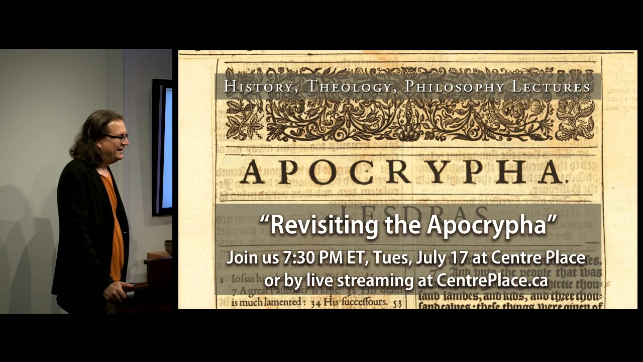 Revisiting the Apocrypha