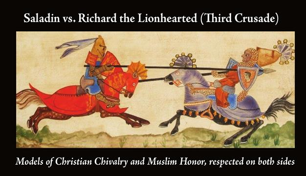 Muslim perspectives on the Crusades
