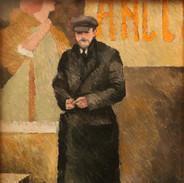 Uomo con cappotto