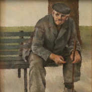 Vecchio seduto
