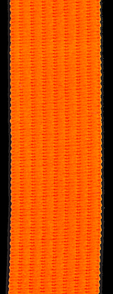 Polyesterband 20 mm Neon Orange