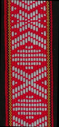 Reflexband 22 mm Röd