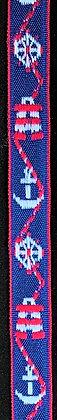 Dekorationsband Navy 15mm