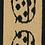 Thumbnail: Dekorationsband Nyckelpiga 25mm
