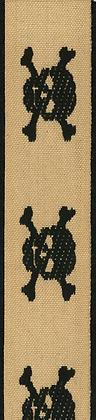 Dekorationsband Pirat 25mm