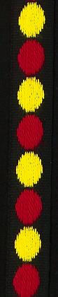 Prickband Röd/Gul 10mm