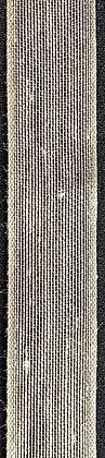 Textilband i lin 25mm Natur