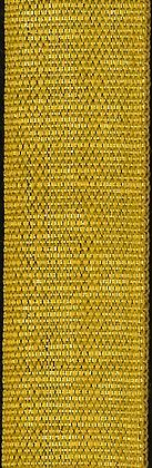 Guldband i bomull 20mm