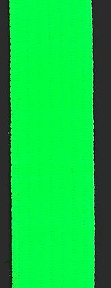 Polyesterband 20 mm Neon Grön