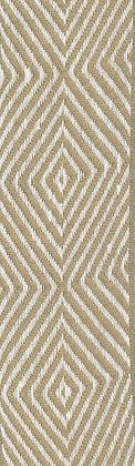 Textilband i lin 40mm Beige