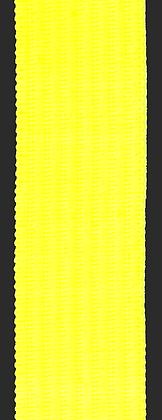 Polyesterband 20 mm Neon Gul