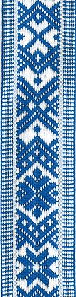 Hemslöjdsband Blå 25mm