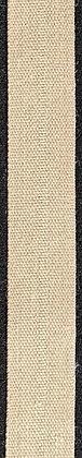 Textilband i lin 20mm Natur