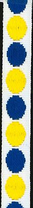 Prickband Blå/Gul 10mm