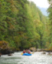 Rafting the Nooksack River
