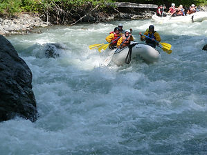 Rafting the North Fork.  Photo: Bonnie Rice