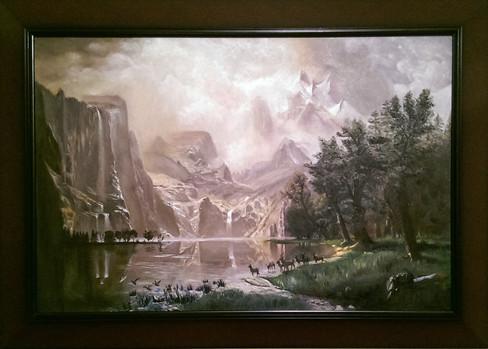 Albert Bierstadt Imitation