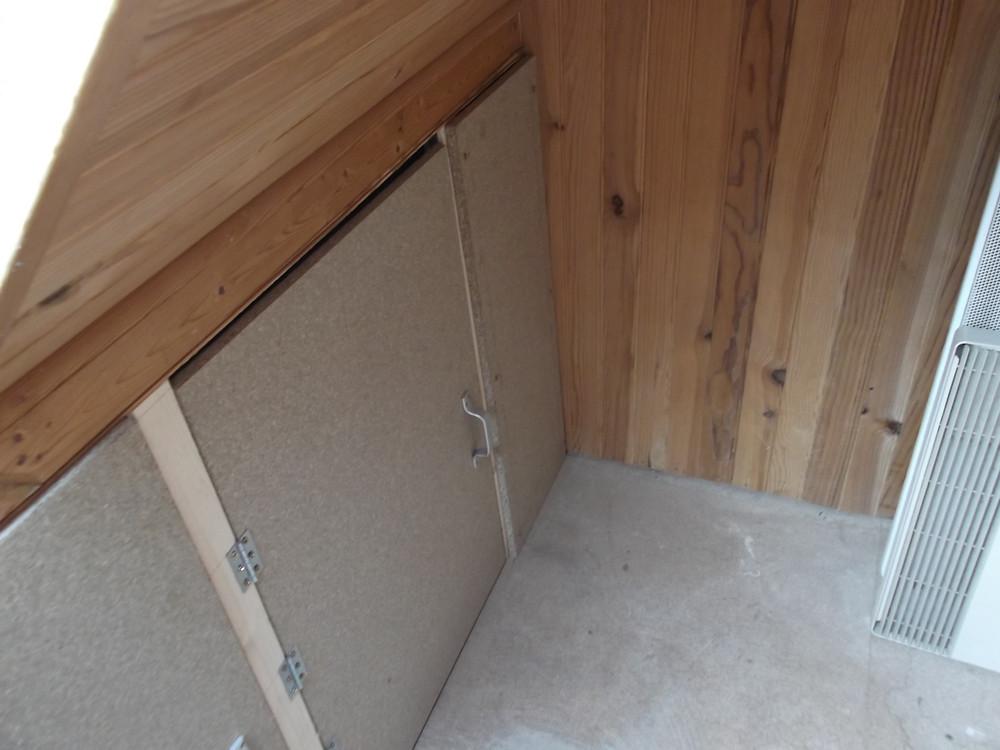 Aménagement Grenier - Pose de portes.