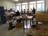 Le centre social Kérourien - Atelier Autour du Bois - Brest.